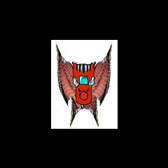 Digivice Dragonico de Shinji