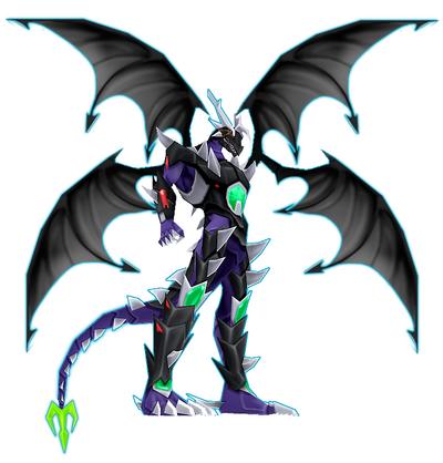 Kronosmon Modo Demonio Dragon