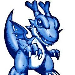 Dracomon Azul