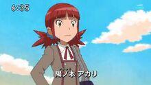 Akari en digimon hunters