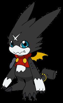 Black Gumdramon
