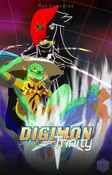 Digimon Trinity Book Cover