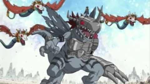 Digimon Adventure 02 OST 16 - Aku no Butai ga Yatte Kita