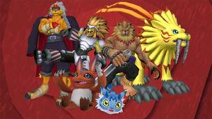 Digimon New Generation linea evolutiva elecmon