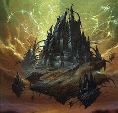 Castillo de reina vampiro