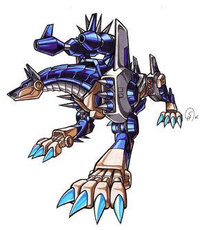 Metaldobermon 2 by Gantzcraziness