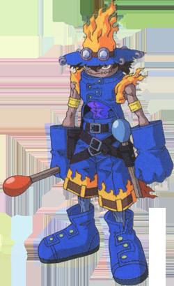 FlaWizarmon azul