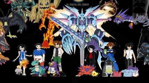 """Digimon El Portal del Tiempo Ending """"Grupo Molestia """"Canción El Tiempo se nos acaba"""
