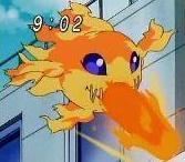 Demimeramon bola de fuego