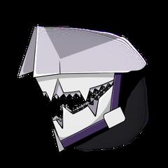 Detalle de la doble dentadura de Goupemon.