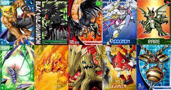 Digimon En Forma Evolucionada