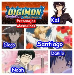 Personajes masculinos