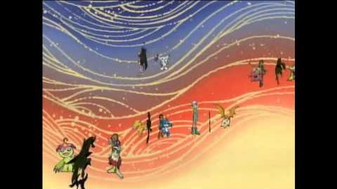 Digimon Adventure 02 Ending 1 HD (720p)