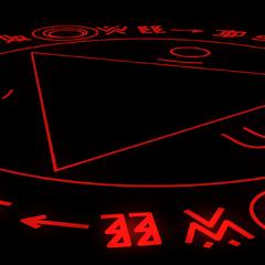 Círculo mágico del ataque de Majinmon