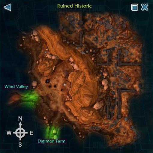 Ruined Historic
