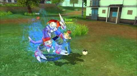 Digimon Masters Online - Monodramon - all evolutions and attacks
