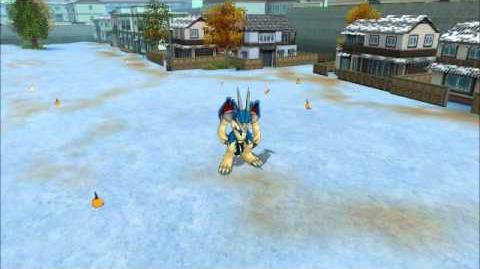 Digimon Masters Online - Veedramon - all evolutions and attacks