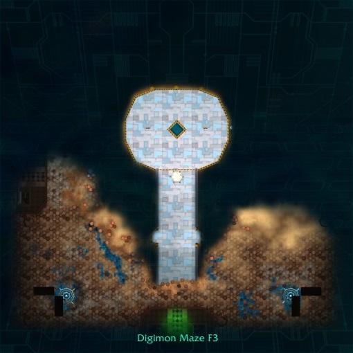 Digimon Maze F4
