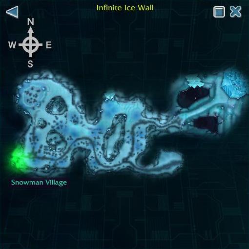 Infinite Ice Wall