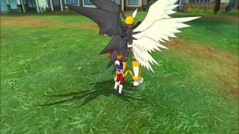 Digimon Masters Online - Lucemon - all evolutions and attacks