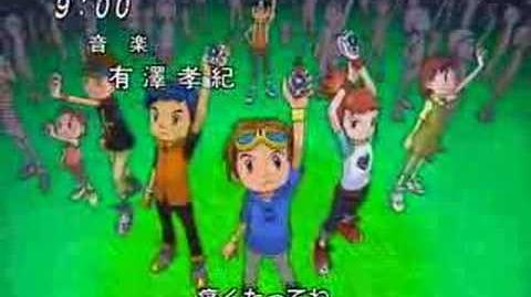 Digimon opening 1 (season 3)