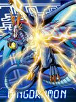 Wingdramon collectors card