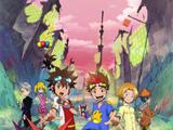 Digimon Xros Wars: Młodzi łowcy biegnący przez czas