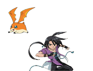 Shun and Patamon