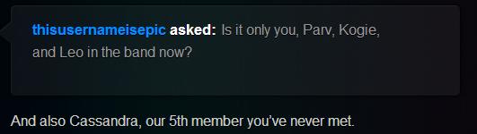 Cassandra 5th member 1