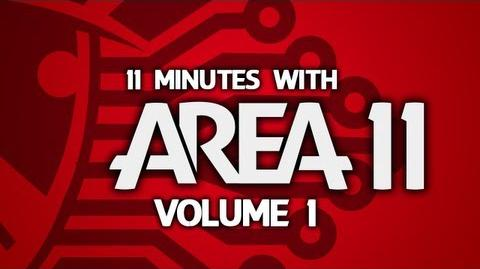 "11 Minutes With Area 11 - Volume 1 ""I Don't Spend Much Time Videoing Televisions"""