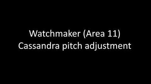 Watchmaker Cassandra Isolation