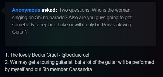 Cassandra 5th member