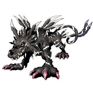 Garurumon black