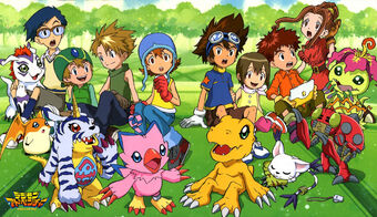 Digimon Adventure personaggi