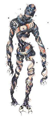 Eater Humanoid Mode