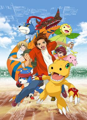 Digimon Savers poster