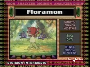 Analizzatore - Floramon (ita)