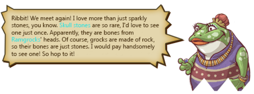 Skull Collecting Text 1