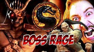 BOSS RAGE! SHAO-KAHN Challenge 300 (Mortal Kombat 9)