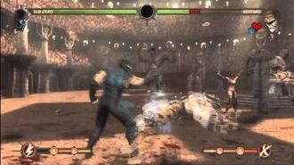 Mortal Kombat 2011 - Challenge Tower Mission 300, completed with Sub-Zero