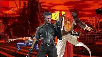 Mugen - Logan (Wolverine) vs. Iori Yagami - 金鋼狼, 羅根 vs. 八神庵