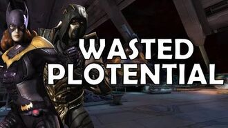 Injustice DLC Characters Wasted Plotential