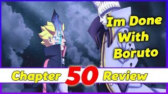 Boruto Chapter 50 Review I'm Done With Boruto