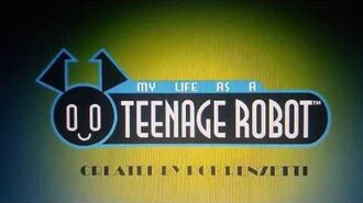 """If """"My life as a teenage robot"""" Was a horror movie"""