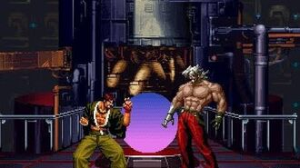 Saisyu Kusanagi vs Omega Rugal