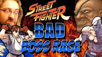BAD BOSS RAGE! Featuring Butthead Sagat (Street Fighter 1987)