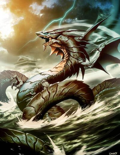 Ryujin dragon god by genzoman-d320uef