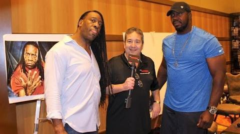 """Harlem Heat"" Booker T & Stevie Ray Interview 2017!"