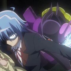 Hayate saving Nagi (yet again)