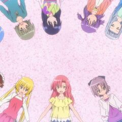 Hinagiku, and most of the girls, during the intro of Cuties!